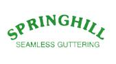Springhill Seamless Guttering Logo
